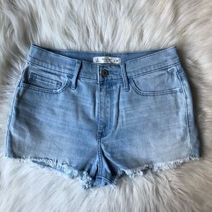Abercrombie Medium wash denim jean shorts